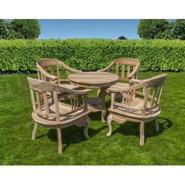 Furniture set: 4 chair and...