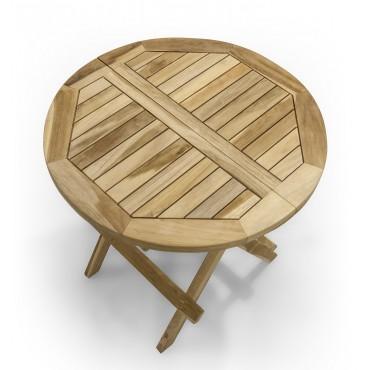 Stolik ogrodowy okrągły -...