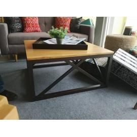 Coffee table made of Mindi wood