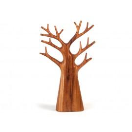 Stojak na biżuterię, drzewko tekowe, 40-45 cm