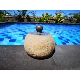 Szkatułka kamienna 17 cm