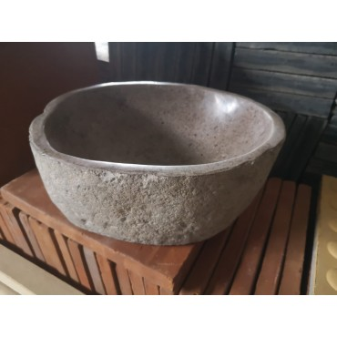 Bali river stone washbasin...