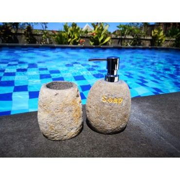 Stone bathroom set 2 piece...