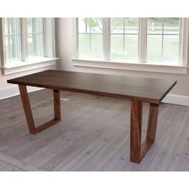 Exotic wood dining table Weru 160 cm