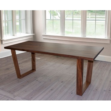 Exotic wood dining table Weru 160 cm