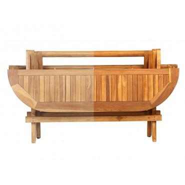 Impregnation of teak furniture