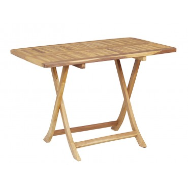 Stół ogrodowy składany teak