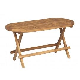 Stół mały piknikowy składany teak
