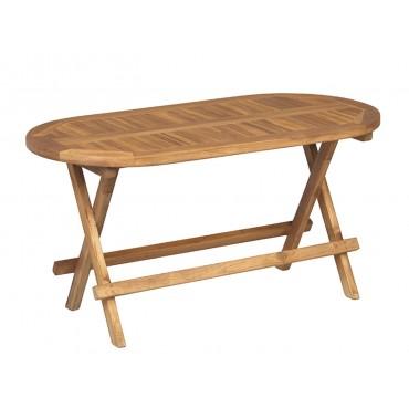 Stół piknikowy składany, Teak