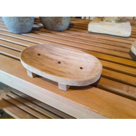 Wooden soap dish, Teak wood