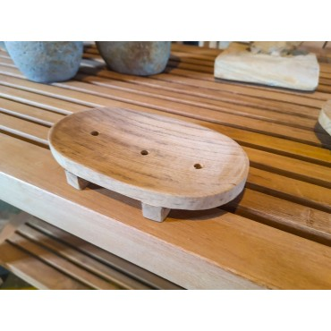 Wooden soap dish, Teak wood