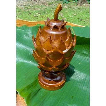 Dragon Fruit Casket, Teak wood