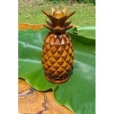 Pineapple Casket, Teak wood