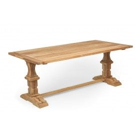 Byzantine table from teak wood