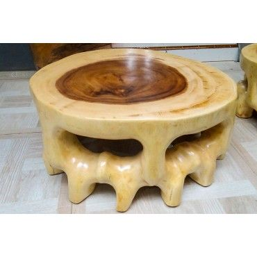 Coffe table made of Suar wood
