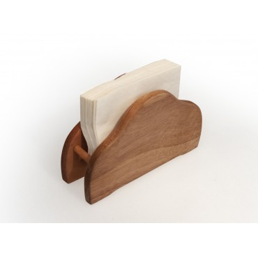 mahogany napkin rack