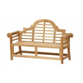 Garden teak bench Tirawa150 cm