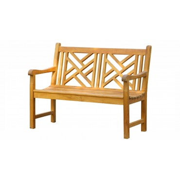 Garden teak bench Wakana...