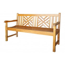 Garden teak bench Wakana 150 cm