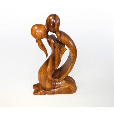 "Sculpture ""abstract kiss"",..."
