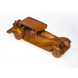 Car - teak wood carving