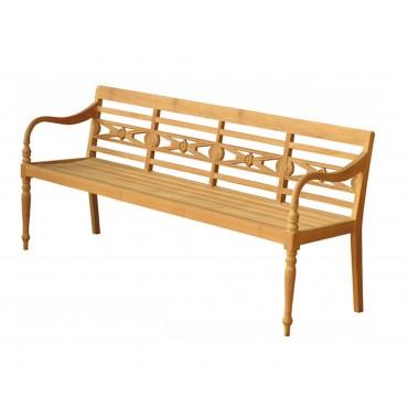 Malaka Garden teak bench...