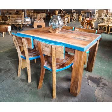 Zestaw stół z krzesłami z...