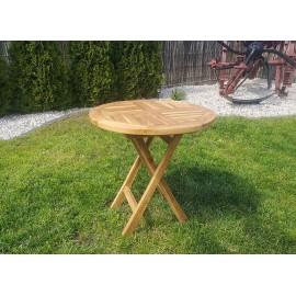 Garden table - 50/50 cm, Teak
