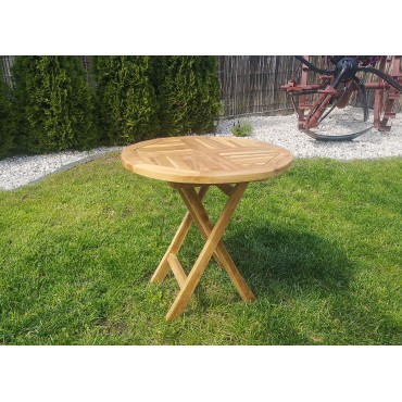 Garden table - 50/50 cm, Teak