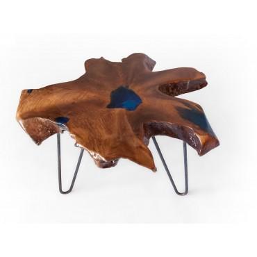 Stolik kawowy z drewna...