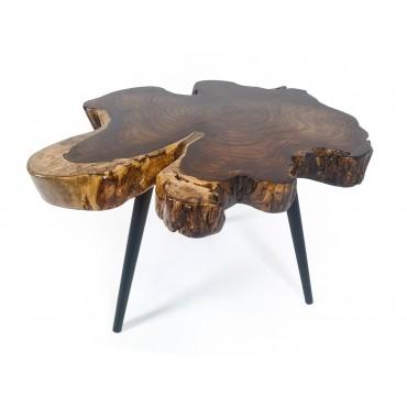 Stolik kawowy z drewna SONO