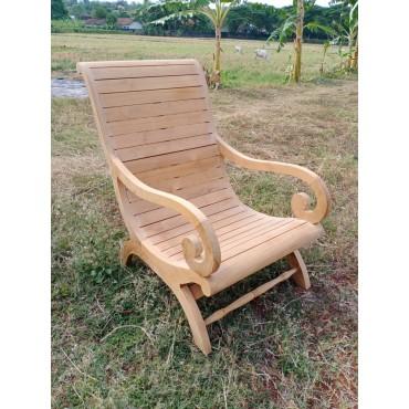Sebani armchair, teak