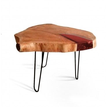 Coffee table made of walnut...