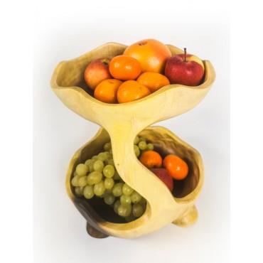 Two-tier bowl, Suar