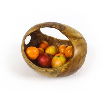 Bowl, teak wood