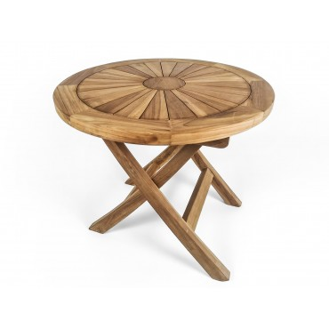 Round garden table Matahari...
