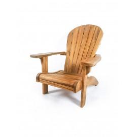 Garden Adirondack armchair , teakwood