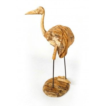 copy of Crane - teak wood...