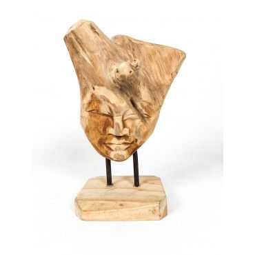 """Sculpture """"Face"""", recovered..."""