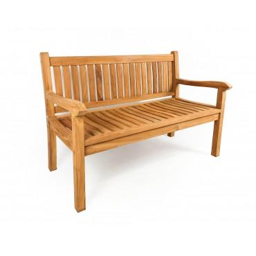 Garden bench Nusa 130 cm teak