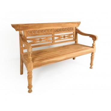 Garden hand carving bench,teak