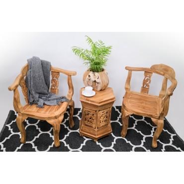 Hand-carved set - Rumah Kita