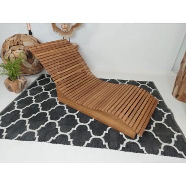 Deck sun lounger - Wave short