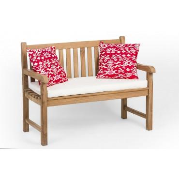 Garden teak bench 120 cm