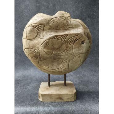 Balijska rzeźba Ryby,...