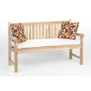 Garden teak bench 150 cm
