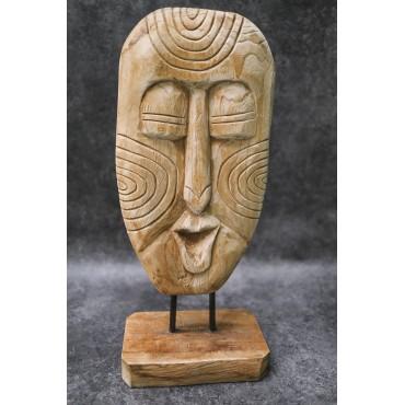 Maska etniczna z wyspy...