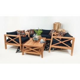 Mataram - a teak wood set of garden furniture