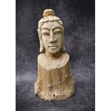 Ręcznie rzeźbiona figura Buddy