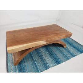 Exclusive bench, exotic Suar wood